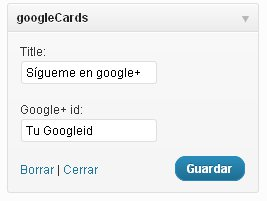 Googlecards