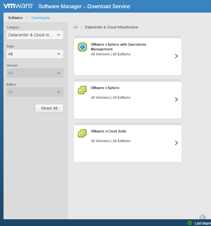 Vmware Software Manager VII
