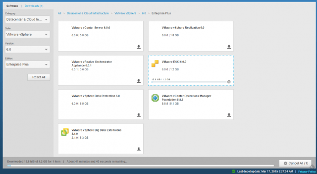 Vmware Software Manager IX